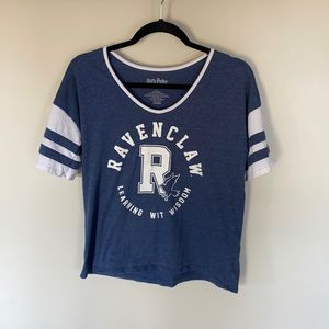 Harry Potter Ravenclaw Varsity Style T-Shirt